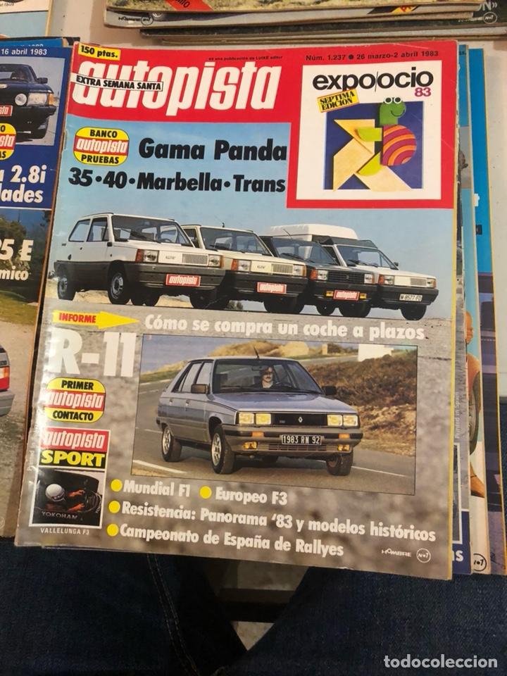 Coches: Revista autopista año 1983, 13 revistas - Foto 8 - 197564311