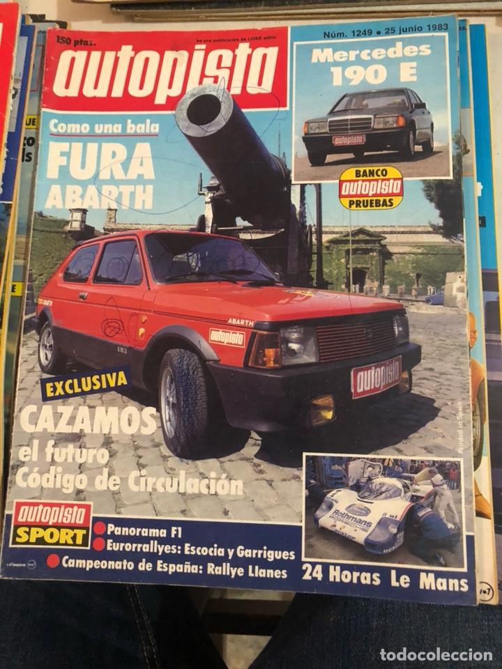 Coches: Revista autopista año 1983, 13 revistas - Foto 9 - 197564311