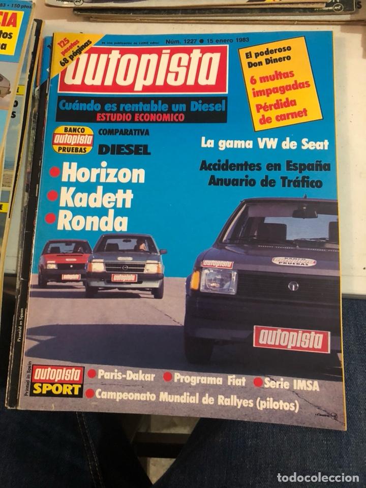 Coches: Revista autopista año 1983, 13 revistas - Foto 11 - 197564311