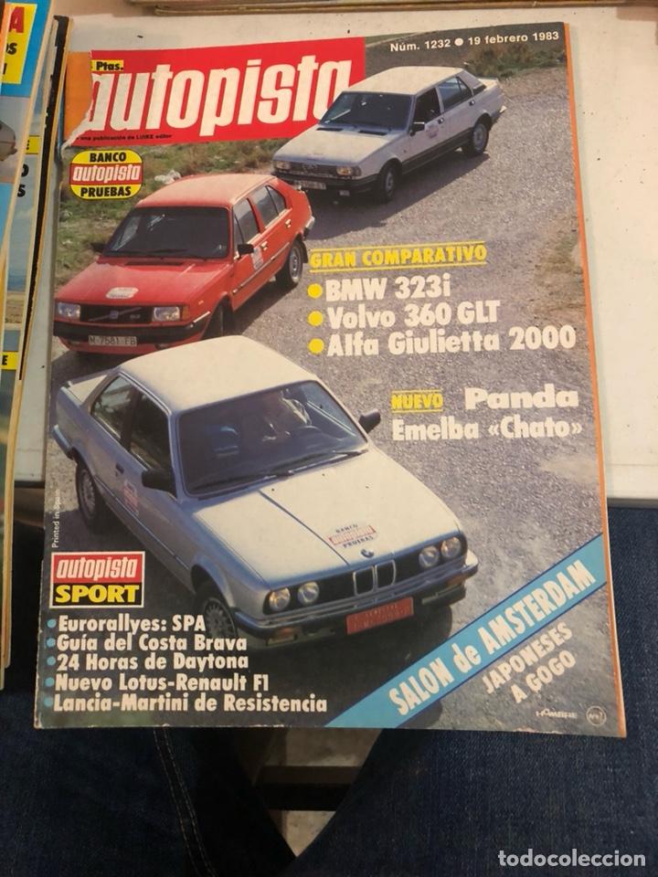 Coches: Revista autopista año 1983, 13 revistas - Foto 13 - 197564311