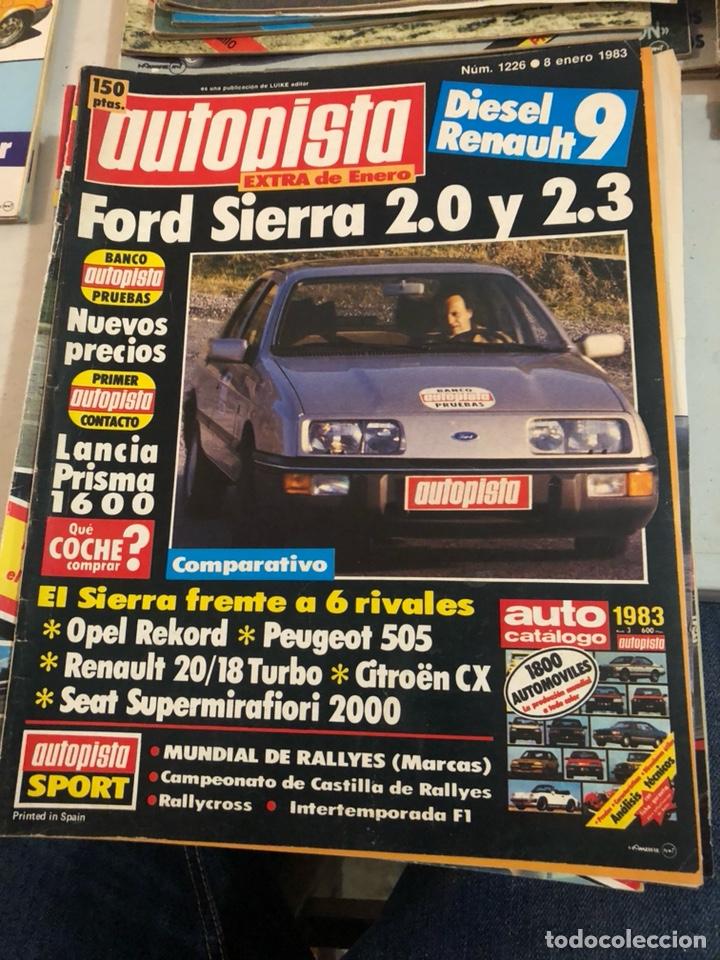 REVISTA AUTOPISTA AÑO 1983, 13 REVISTAS (Coches y Motocicletas Antiguas y Clásicas - Revistas de Coches)
