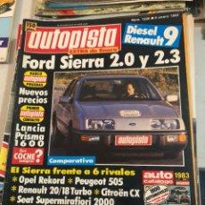 Coches: REVISTA AUTOPISTA AÑO 1983, 13 REVISTAS. Lote 197564311