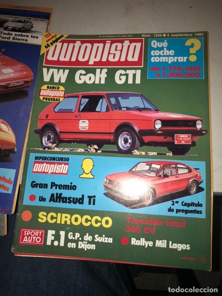 Coches: Lote de 7revistas autopista año 1982 - Foto 7 - 197566500