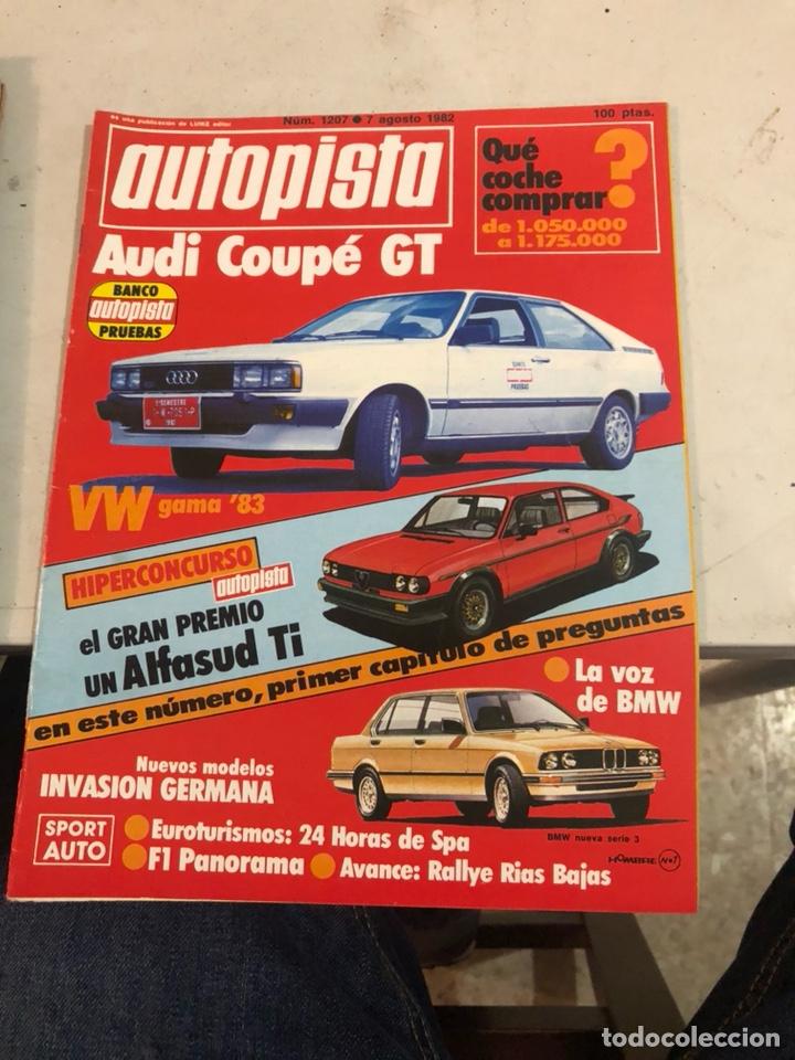 Coches: Lote de 7revistas autopista año 1982 - Foto 8 - 197566500