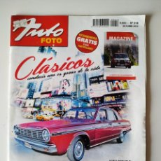Coches: REVISTA AUTO FOTO Nº 218 DODGE DART 270 GL AMERICAN CARS BISCUTER FORD MUSTANG. Lote 197850555
