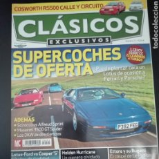Carros: -REVISTA CLÁSICOS EXCLUSIVOS Nº71-MINI COOPER S-LOTUS CORTINA -VW SCIROCO-ALFA ALFASUD-911 TURBO-. Lote 199575552