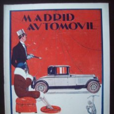 Coches: REVISTA MADRID AUTOMOVIL - MAYO 1926 - Nº 17. Lote 199646516