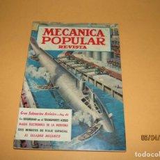 Coches: ANTIGUA REVISTA * MECÁNICA POPULAR * EN ESPAÑOL DE FEBRERO DE 1959. Lote 199738155