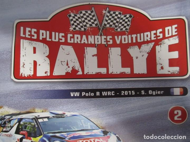 Coches: lote 6 fasciculos les plus grandes voitures de rallye altaya subaru alpine lancia delta - Foto 2 - 199796485