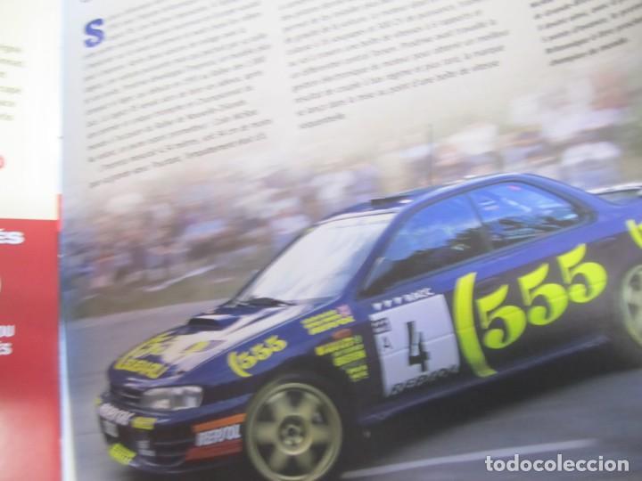 Coches: lote 6 fasciculos les plus grandes voitures de rallye altaya subaru alpine lancia delta - Foto 4 - 199796485