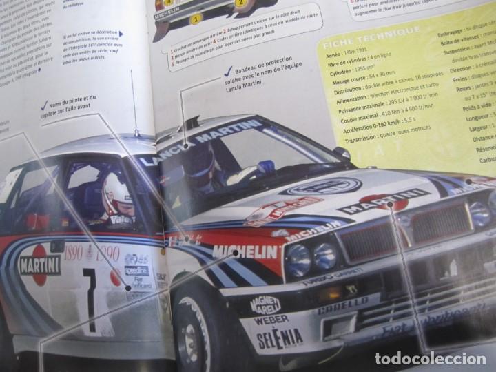 Coches: lote 6 fasciculos les plus grandes voitures de rallye altaya subaru alpine lancia delta - Foto 6 - 199796485