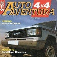 Carros: AUTO AVENTURA Nº 24 ISUZU TROOPER. Lote 202262323