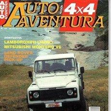 Coches: AUTO AVENTURA 4X4 Nº 44 LAMBORGHINI LM003 LAND ROVER DEFENDER MITSUBISH MONTERO V6 JEEP WILLYS. Lote 202622176