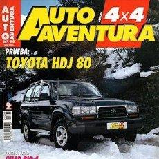 Coches: AUTO AVENTURA 4X4 Nº 99 TOYOTA HDJ 80 JEEP GRAND CHEROKEE MONTERO TDI SPA TL-37. Lote 202982681