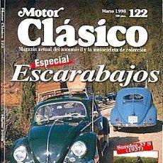 Voitures: MOTOR CLASICO Nº 122 VOLKSWAGEN ESCARABAJO BRUCE MCLAREN. Lote 203492340