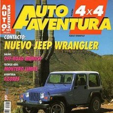 Coches: AUTO AVENTURA 4X4 Nº 101 JEEP WRANGLER TOYOTA LAND CRUISER HDJ RANGE ROVER. Lote 203614303