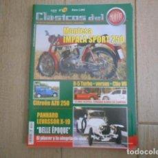 Coches: REVISTA CLÁSICOS DEL MOTOR Nº 18. Lote 203929783