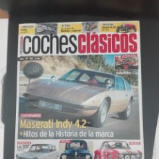 Coches: -COCHES CLASICOS 107 - MASERATI INDY 4.2-SEAT 1400 C -PEUGEOT 203- LANCIA FULVIA COUPE HF 1600. Lote 204317103