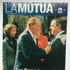 Coches: REVISTA LA MUTUA (Nº 1). MUTUA MADRILEÑA. 2005. EJEMPLAR HISTÓRICO. ORIGINAL. COLECCIONISTA. Lote 204470348