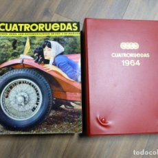 Carros: REVISTA CUATRORUEDAS AÑO 1964 COMPLETO CON ESTUCHE. Lote 204474570