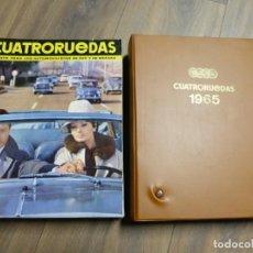 Carros: REVISTA CUATRORUEDAS AÑO 1965 COMPLETO CON ESTUCHE. Lote 204475100