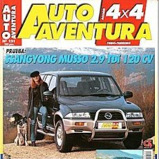 Coches: AUTO AVENTURA 4X4 Nº 121 SSANGYONG MUSSO LAND ROVER FREELANDER TOYOTA RAV-4. Lote 204697950