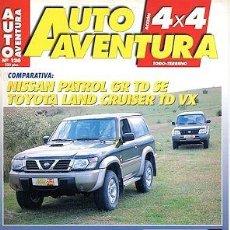 Coches: AUTO AVENTURA 4X4 Nº 126 NISSAN PATROL GR TOYOTA LAND CRUISER TD VOLVO 4X4. Lote 204699052