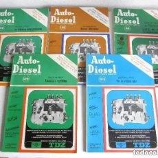 Coches: LOTE 5 REVISTAS AUTO DIESEL 1970 NÚMEROS 119 122 123 125 Y 126 AUTO - DIESEL. Lote 205118352