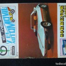 Coches: ANTIGUA REVISTA-EL MEDICO Y EL AUTOMOVIL-REVISTA CASEN Nº6·MARZO 1970. Lote 205558503