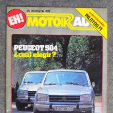 Coches: REVISTA MOTOR AUTO Nº 44 (10-16.AGOSTO.1978). Lote 205558541