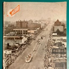 Coches: REVISTA RECORD,PUBLICACIÓN GRÁFICA GALLEGO FERRER OCTUBRE 1951 DE MECÁNICA E INNOVACIONES TECNICAS. Lote 205578187