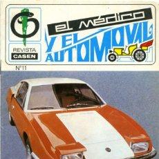 Coches: REVISTA CASEN Nº 11 AÑO III. FEBRERO 1971. EL MÉDICO Y EL AUTOMÓVIL. SIN PAGINAR.. Lote 205680051