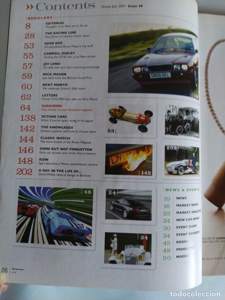 Coches: Revista Octane Julio 2007. En portada Ford GT40, fotos nunca vistas y nuevas historias. En inglés. - Foto 2 - 205743657
