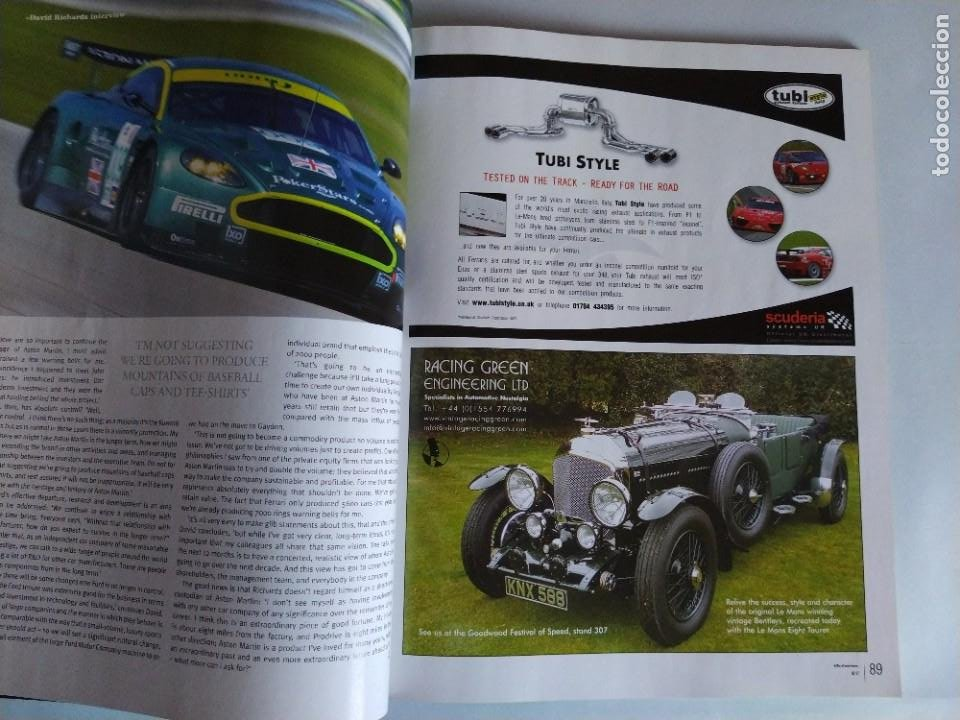 Coches: Revista Octane Julio 2007. En portada Ford GT40, fotos nunca vistas y nuevas historias. En inglés. - Foto 6 - 205743657