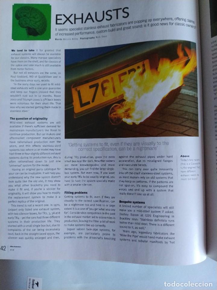 Coches: Revista Octane Julio 2007. En portada Ford GT40, fotos nunca vistas y nuevas historias. En inglés. - Foto 9 - 205743657