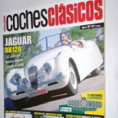 Coches: REVISTA COCHES CLASICOS Nº42 AÑO IV (2008) JAGUAR XK120,GOODWOOD,LINCOLN-MERCEDES,RENAULT 21 TURBO. Lote 206246793