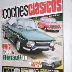 Coches: REVISTA COCHES CLASICOS Nº46 AÑO IV (2008) MG 1300,RENAULT 10,ASTON MARTIN DB,COOPER MONACO,PACKARD. Lote 206247828