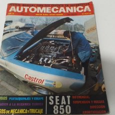 Coches: REVISTA AUTOMECANICA ABRIL 1971 NÚMERO 20. Lote 206289585