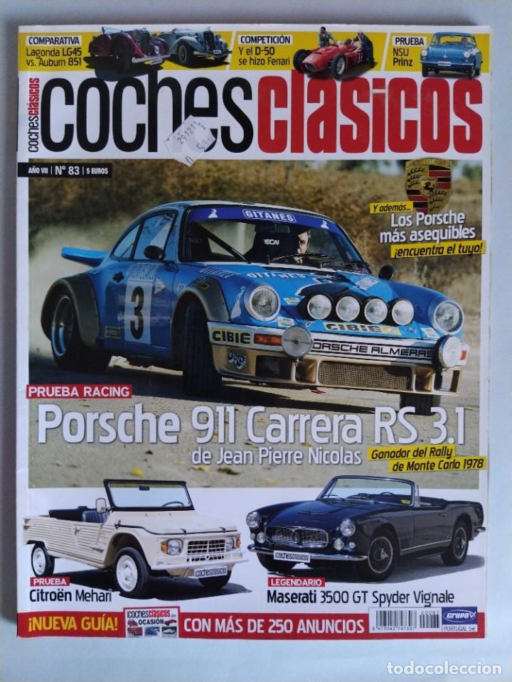 REVISTA COCHES CLÁSICOS Nº 83 AÑO 2011 (Coches y Motocicletas Antiguas y Clásicas - Revistas de Coches)
