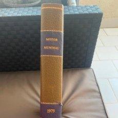 Coches: MOTOR MUNDIAL TOMO REVISTAS AÑO 1979. Lote 206825088