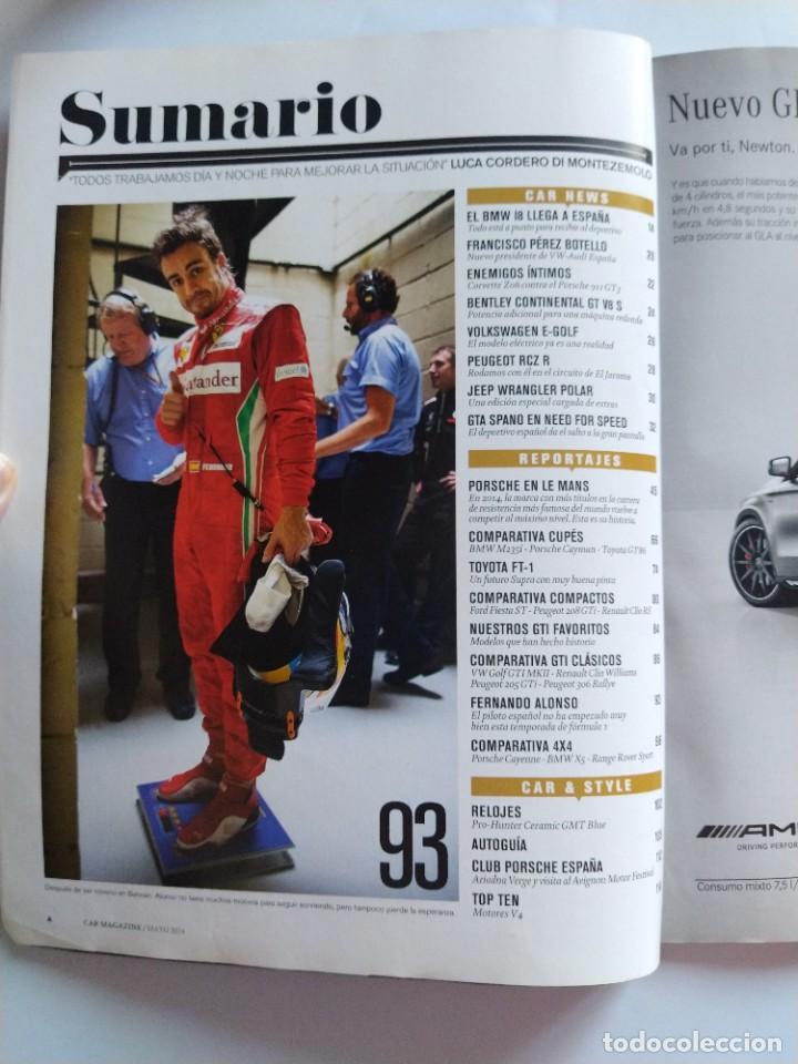 Coches: Car la revista original Nº 86 Mayo 2014 24H de Le Mans, el retorno de Porsche a Le Mans, victorias.. - Foto 2 - 206922337