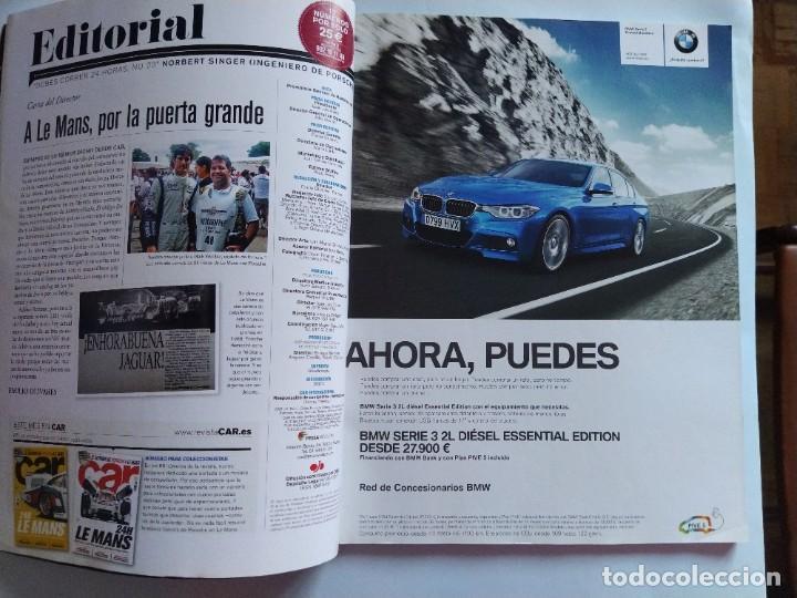 Coches: Car la revista original Nº 86 Mayo 2014 24H de Le Mans, el retorno de Porsche a Le Mans, victorias.. - Foto 3 - 206922337
