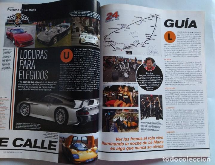 Coches: Car la revista original Nº 86 Mayo 2014 24H de Le Mans, el retorno de Porsche a Le Mans, victorias.. - Foto 8 - 206922337