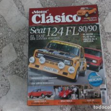 Coches: MOTOR CLASICO Nº 281, SEAT 124 FL 80-90, KAPI JIP, MILLE MIGLIA, SKODA S110 R. Lote 206977223