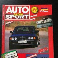 Coches: AUTO HEBDO Nº 119 - RENAULT 11 TURBO ALFA 33 1.7 QV BMW 735I PEUGEOT 405 TURBO 16 RANGE ROVER DAKAR. Lote 207126295