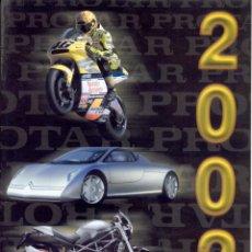 Coches: CATÀLOGO PROTAR PROVINI TARQUINIO 2002 MOTO 1:9 & 1:6 AUTO 1:12 & 1:24 - EN ITALIANO. Lote 207134063