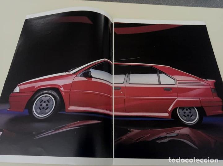 Coches: Catálogo original de Citroën BX de 32 págs. a todo color. - Foto 2 - 208004520