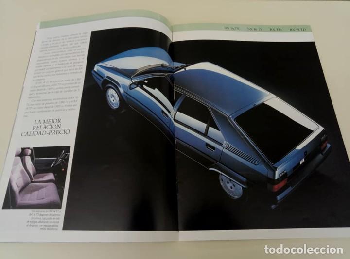 Coches: Catálogo original de Citroën BX de 32 págs. a todo color. - Foto 3 - 208004520