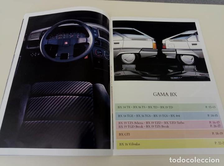 Coches: Catálogo original de Citroën BX de 32 págs. a todo color. - Foto 5 - 208004520