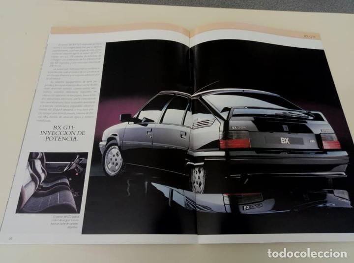 Coches: Catálogo original de Citroën BX de 32 págs. a todo color. - Foto 6 - 208004520
